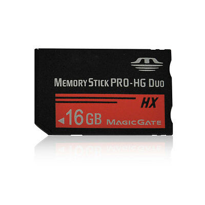 16GB MS Memory Stick PRO-HG Duo HX Card For Sony PSP 1000/2000/3000 Game Camera