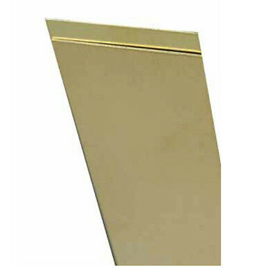 K & S 8226 Brass Strip, 12""