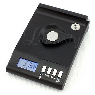 Precision 1mg Digital Scale 0.001g x 30g Reloading Powder Grain Lab Jewelry Gold