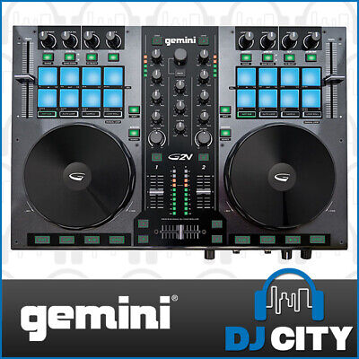 Gemini G2V Professional 2 Channel DJ MIDI Controller with Virtual DJ Software...