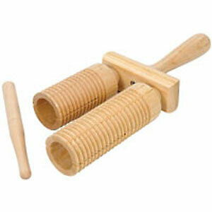Wooden Agogos Musical Instrument Percussion Effect 173.714