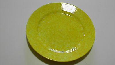 """Stangl Yellow Caughley Salad Plate 8"""""""