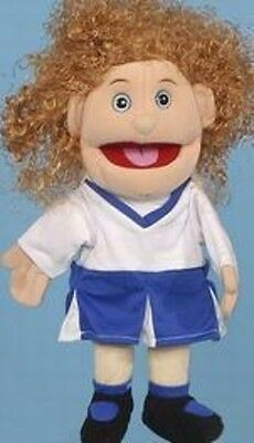 """14"""" Girl/Cheer Leader Puppet GL2201 New By Sunny"""