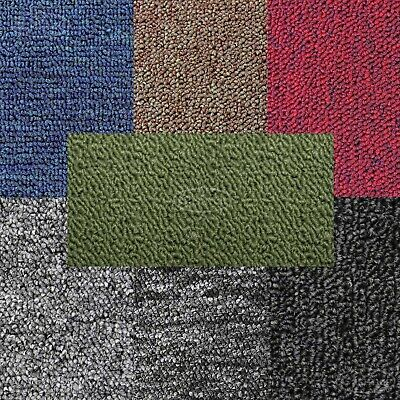 Carpet Tiles Heavy Duty Home Shop Office 5 SQM Reception Industrial 20 tiles New