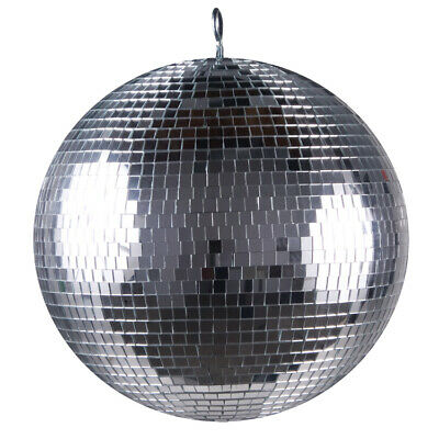 "Lmb-12 Bright Light Mirror Ball 12"" Inch Silver Party Dj Disco Ball"