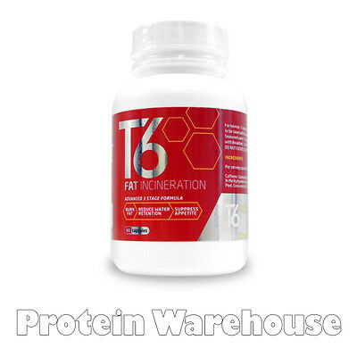 T6 Fat Burners Slimming Pills Diet Weight Loss Tablets T6 Fat Burner 60 Caps