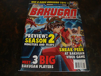 Beckett---Bakugan---Price Guide---Issue #1---2009---8x11---Includes Poster