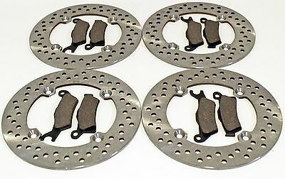 2012 2013 2014 CAN-AM RENEGADE 1000 EFI XXC FRONT AND REAR BRAKE PADS AND ROTORS