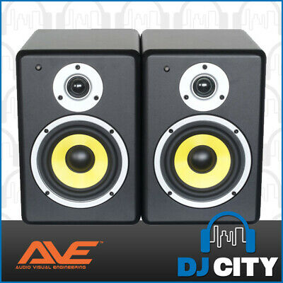 "PAIR FUSION5 AVE 5"" Inch Studio Monitors, DJs, Producers and Computer Speakers"