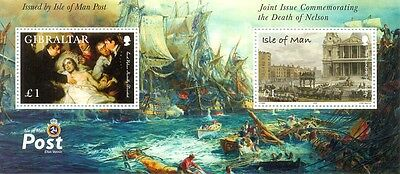 Isle of Man Death of Nelson M/s MNH (2005) MS 1264