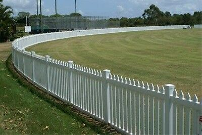 NEW! 168' White Vinyl Picket 4' tall Fence!