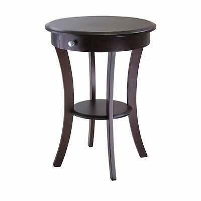Winsome Wood 40627 Round Accent End Table