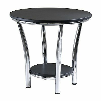 Winsome Wood 93219 Maya Round End Table