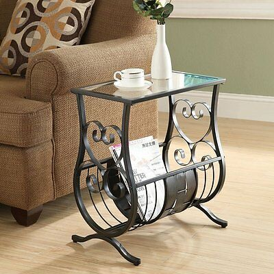 Monarch Specialties I 3314 Magazine Table