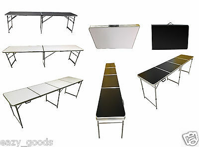 5Ft/6Ft/8Ft Foot Aluminium Folding Table Catering Camping Market Free Delivery