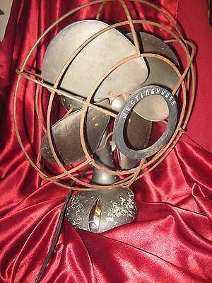 VINTAGE WESTINGHOUSE FAN,  2 SPEEDS,  OSCILLATING FAN, WORKS!