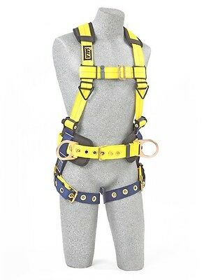 DBI-Sala® Delta™ Construction Style Positioning Harness, Size: Large (1101655)