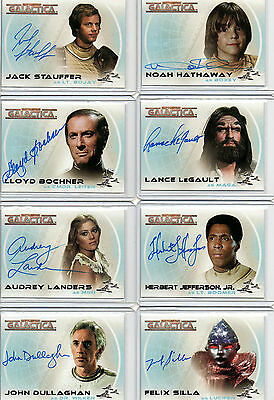 Battlestar Galactica Autograph And Costume Card Selection NM