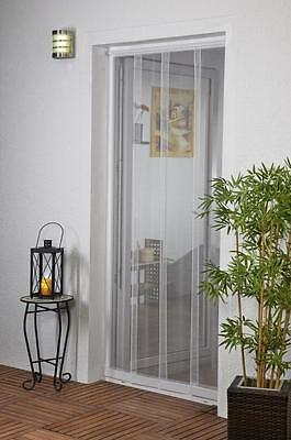 Insect Curtained for doors Door curtain Polyester 100 x 220 cm white