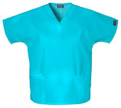 Cherokee Scrubs 4700 V Neck Scrub Top Turquoise by Workwear free shipping.