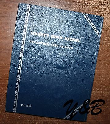 Nearly Complete Set of Liberty Head V Nickel 1883-1912 in folder only miss 3