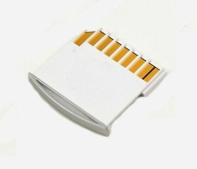 US for Macbook Air / Pro / Retina Micro SD Card Mini Adaptor Extra Storage WHITE