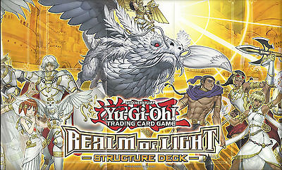 Yu-Gi-Oh: Playmat From The Realm Of Light Structure Deck