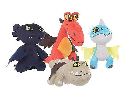 "New 10"" And 12"" Dreamworks How To Train Your Dragon 2 Plush Soft Toy"
