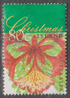 (T10-72) 1998 Christmas Island 80c flame tree (C) F/Usd