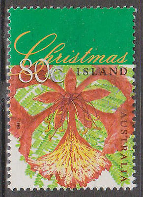 (T10-74) 1998 Christmas Island 80c flame tree (E) F/Usd