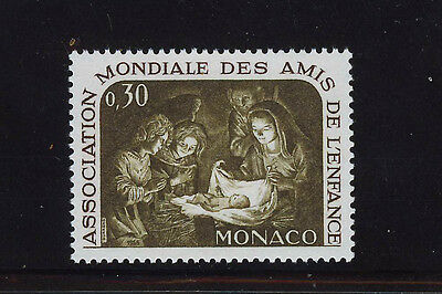 MONACO 1966 MNH SC.630 Association for the Protection of Child