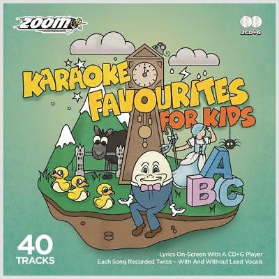 Kids Karaoke CDG 40 Nursery Rhymes & Childrens Songs With & Without Vocals CD+G
