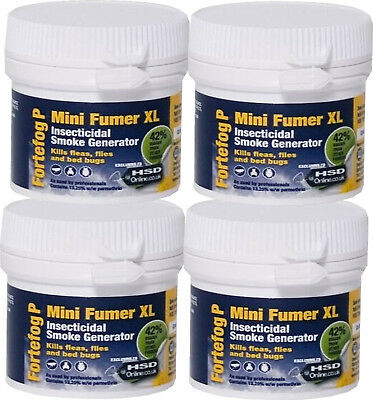 Bed Bug Killer Treatment Fortefog Fumer Fogger Kill Bedbugs Home Bedroom Control