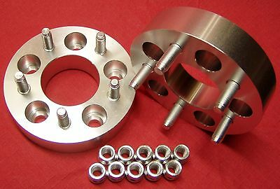 """4pc 5x5/"""" to 5x4.5/"""" Wheel Spacers Adapters 1.5/"""" for Chevy Astro C10 Pickup oy"""