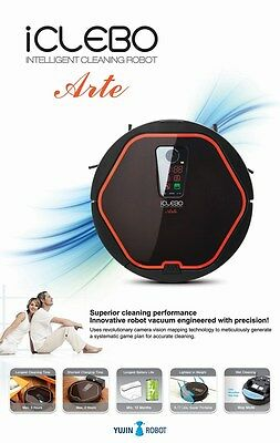 Robot Vacuum, iCLEBO Arte, Camera Vision Mapping -Brand New w/12 months Warranty
