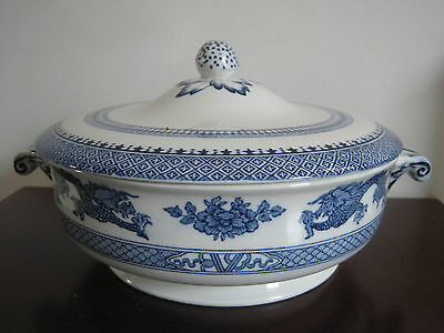 Vintage Booths 'Blue Dragon' Tureen and lid