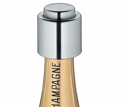 Cilio Stainless Steel Champagne Bottle Cap / Stopper / Sealer - C300888