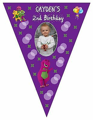Barney Printed Banner, Party Banners, Barney, Barney Party Supplies