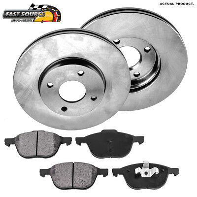 Front Brake Rotors And Metallic Pads For 2005 2006 2007 Ford