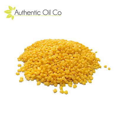 Yellow Beeswax Pellets Pure Natural Cosmetic Grade For Candle Soap Making UK