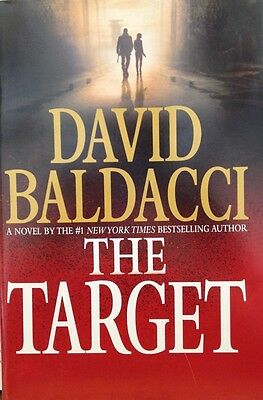 The Target by David Baldacci Book Club edition large print new hardcover