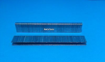 L10 5/8 Inch Long 18 Gauge 1/4 Inch Narrow Crown Galvanized Staple 5,000 Box