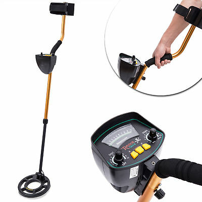 HOMCOM Metal Detector Locator Deep Target Treasure Coins Power Hunting