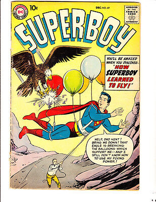 Superboy 69 (1958): FREE to combine: in Good/Very Good condition
