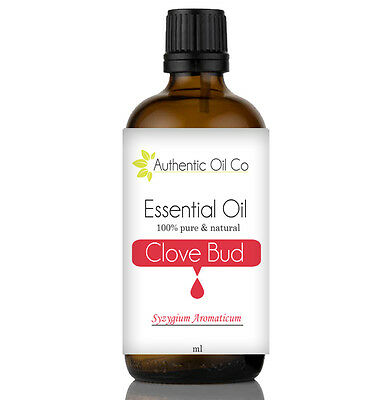 Clove Bud Essential Oil 100% Pure Natural Aromatherapy Diffuser Burner Massage