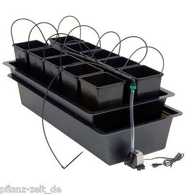 Nutriculture Atami Wilma System 10 Pflanzen Grow Hydro Hydrosystem hydroponisch