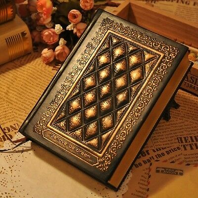 """Blessedness"" Luxury Diary Exercise Book Leather Cover Notebook Journal Planner"