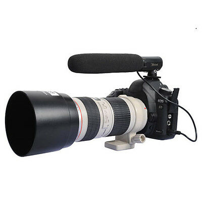 Camera/DC/DV Microphone MIC for Canon EOS M Rebel T5i/T4i/T3i/​T2i/100D/70D/60D