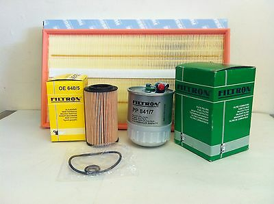 FOR Mercedes Vito 109 111 115 120 cdi 03  SERVICE KIT OIL AIR FUEL FILTER