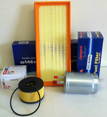 For Ford Mondeo Mk3 2.0 & 2.2 Tdci 01- 07 Diesel Service Kit Oil Air Fuel Filter
